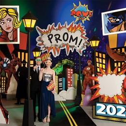 Superhero City Prom Theme
