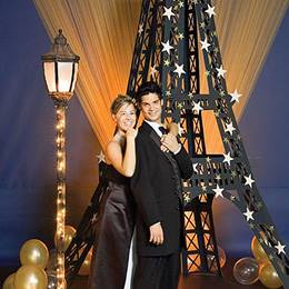 Corrugated Eiffel Tower Mini Prom Theme Kit
