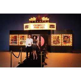 Grand Theater Marquee Photo Scene