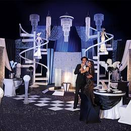 Black and White Ball Complete Theme