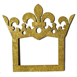 Gold King Frame Photographer Prop Kit