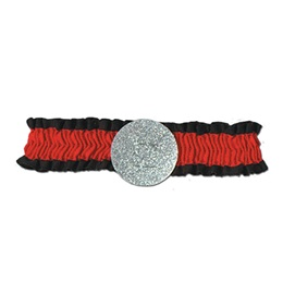 Black and Red Arm Band
