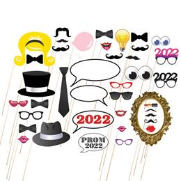 Assorted 2020 Photo Prop Kit