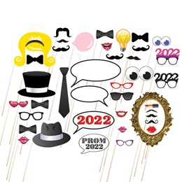 Assorted Prom Year Photo Prop Kit