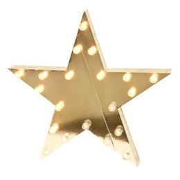 Lit Silver Star