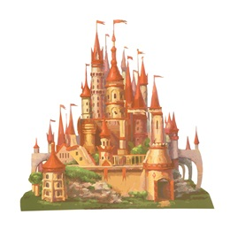 Queen of Hearts Castle Kit