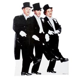Three Stooges Photo Op