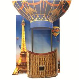 Paris Balloon Photo Prop