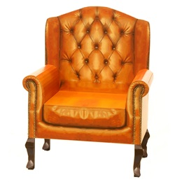 Leather Chair Photo Scene Kit