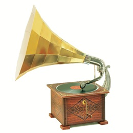 Gramophone Photo Prop Kit