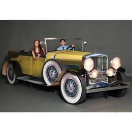 Yellow Gatsby Car