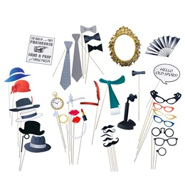 Photo Booth Props and Accessories