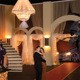 Lit Classy Casino Hotel Lobby Kit