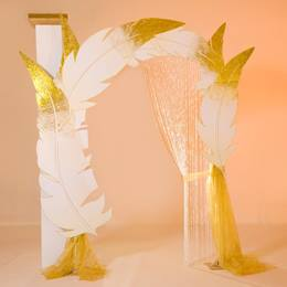 Golden Memories Arch and Column Kit