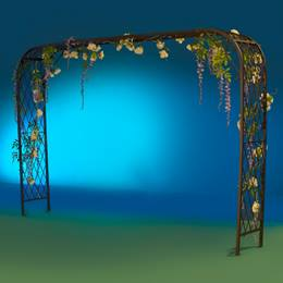 Garden Floral Fantasy Entrance Arch Kit