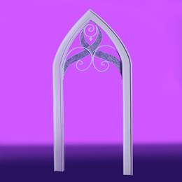 Lovely in Lilac Tall Arch Kit
