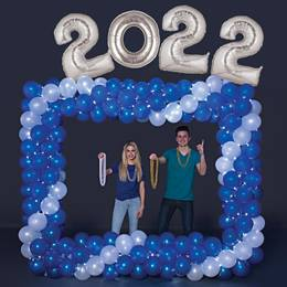 Balloon Frame With Year Kit
