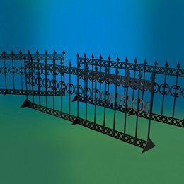 Sensational Sea View Fences Kit (set 3)