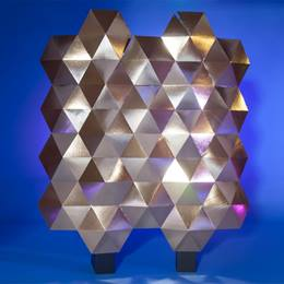Geometric Gold Wall Kit