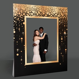 Gold & Black Frame Kit
