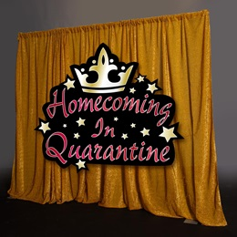 Homecoming in Quarantine Photo Backdrop Kit