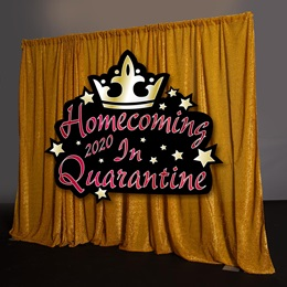 Homecoming 2020 in Quarantine Photo Backdrop Kit