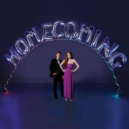 Floating Homecoming Balloon Arch Kit