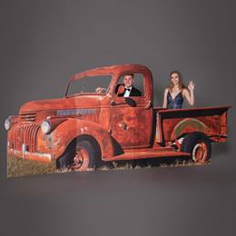 Rustic Retro Truck Stand-up