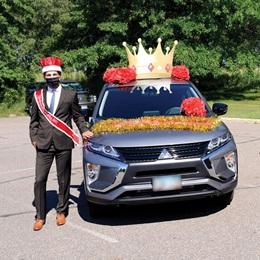 Car Decoration Kit - Homecoming King Crown