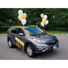 Car Decoration Kit - Homecoming King