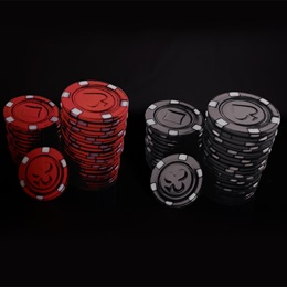Poker Face Chips Stacks Kit (set of 2)