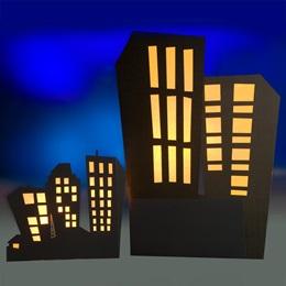 Secret Convention Left Side Buildings Kit