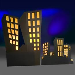 Secret Convention Right Side Buildings Kit