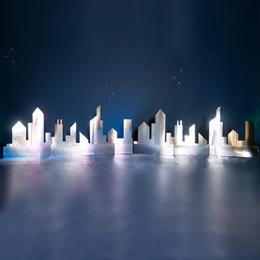 Shiny Silver City Kit (set of 2)