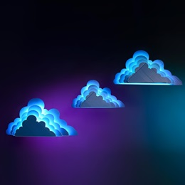 Luminescence in the Heavens Clouds Kit (set of 3)