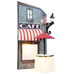Parisian Night Life Le Café Kit