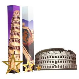 World Travelers Columns and Silhouette Kit