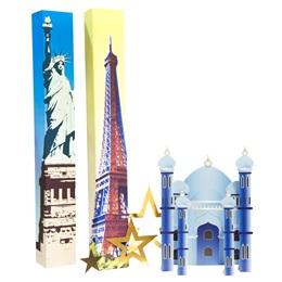 International Love Columns and Silhouette Kit