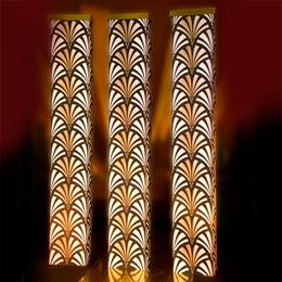 Glamour and Glitz Art Deco Columns Kit (set of 3)
