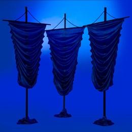 Deep Blue Destiny Fabric Stands Kit (set of 3)