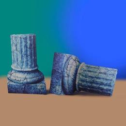 Ancient Undersea Ruins Small Columns Kit (set of 2)