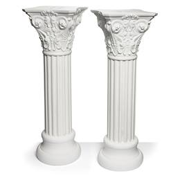 Roman Plastic Pillar Column