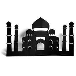 Taj Mahal Silhouette