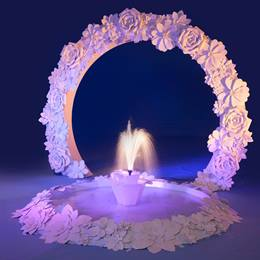 Blossoming Fantasies Large Arch and Fountain Kit