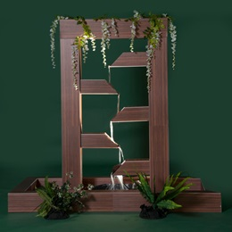 Wondrous Falling Waters Wall & Plants Kit