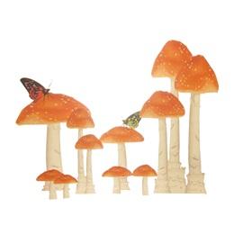 Fairytale Toadstools Kit (set of 8)