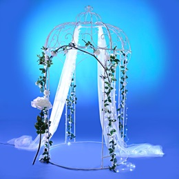 Wintery Rose Rendezvous Gazebo Kit