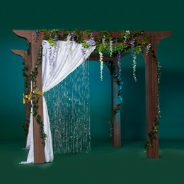 Rustic Chic Pergola Kit