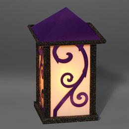 Purple Lantern Theme Prop