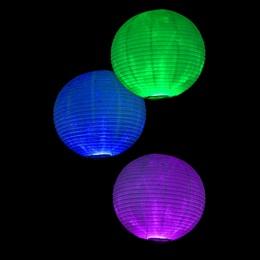 Dreaming in Color Dangling Lanterns Kit (set of 4)